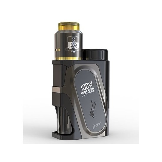 Ijoy Capo 100 W Squonker Combo RDA Tringle Kit 9 мл