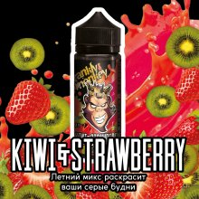 Frankly Monkey Black Edition - Kiwi & Strawberry